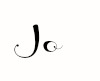 Signature - Jo