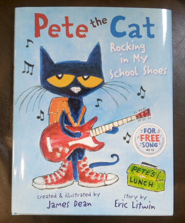Pete the Cat Rockin School Shoes