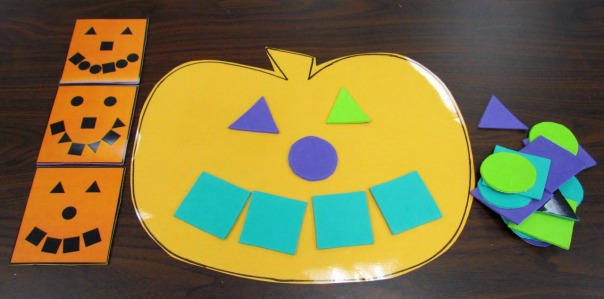 Halloween Party Pumpkin Patterning Game