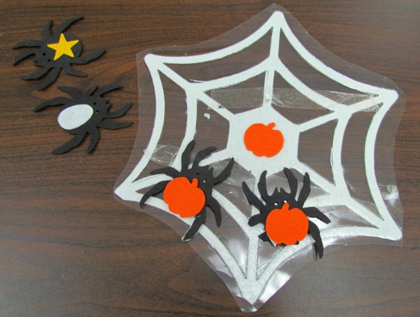 Halloween Party Spider Match Game